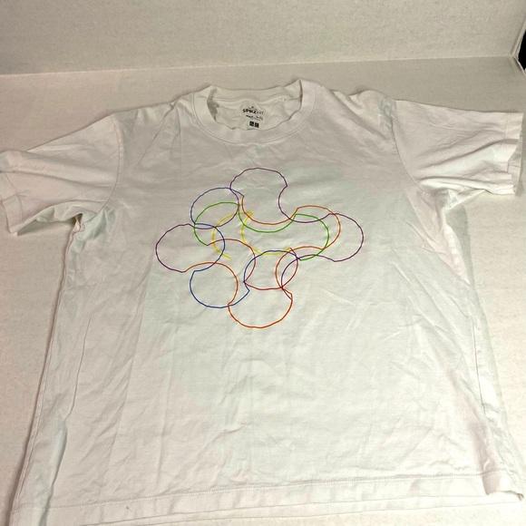 Sprouse NY Tshirt Max Bill medium white UNIQLO